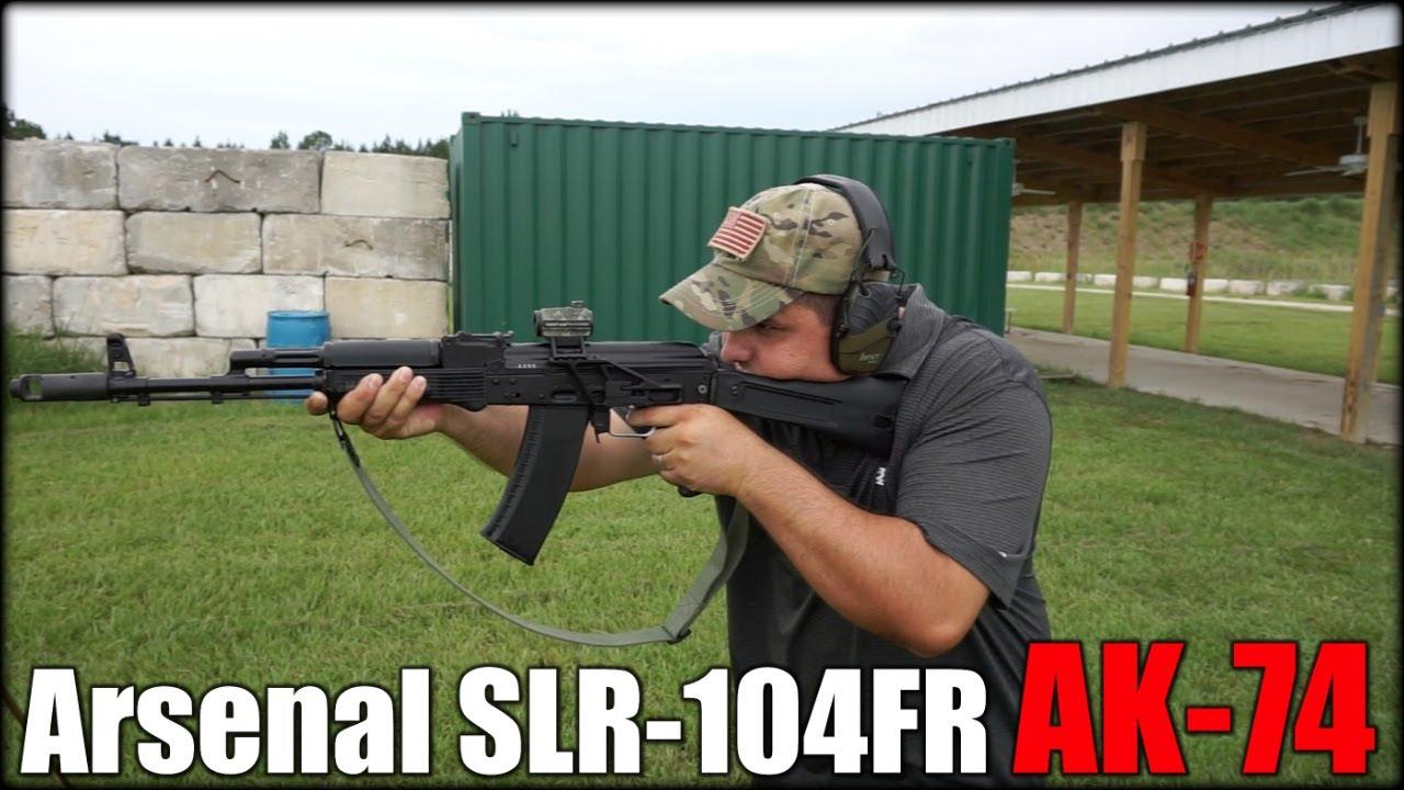 Arsenal SLR-104FR AK-74  First Shots