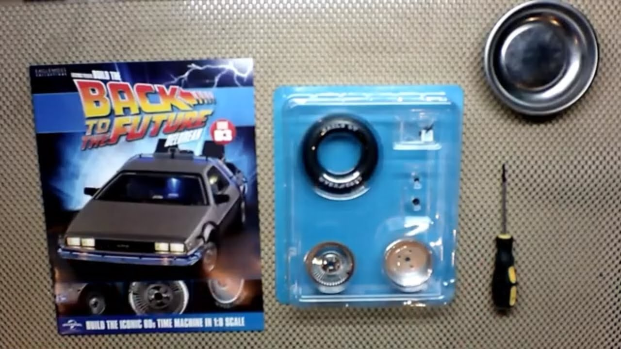 Back to the Future Delorean Build - Issue 3 *Faster than Joey
