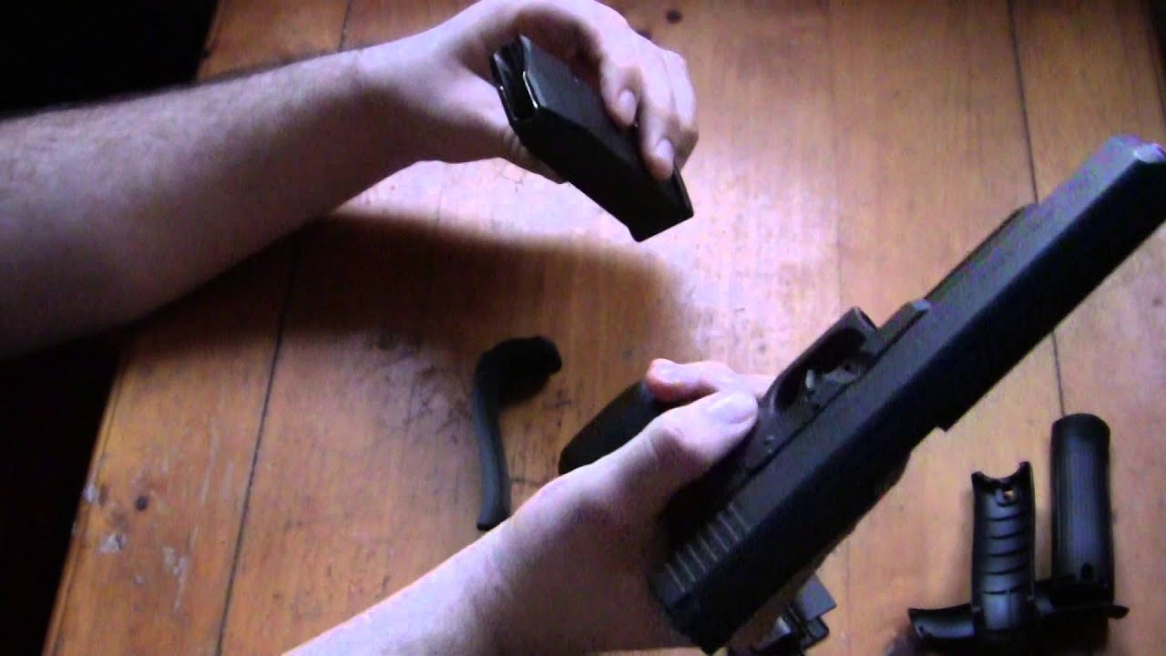 How To Change The Backstraps On Your Gen4 Glock Pistol