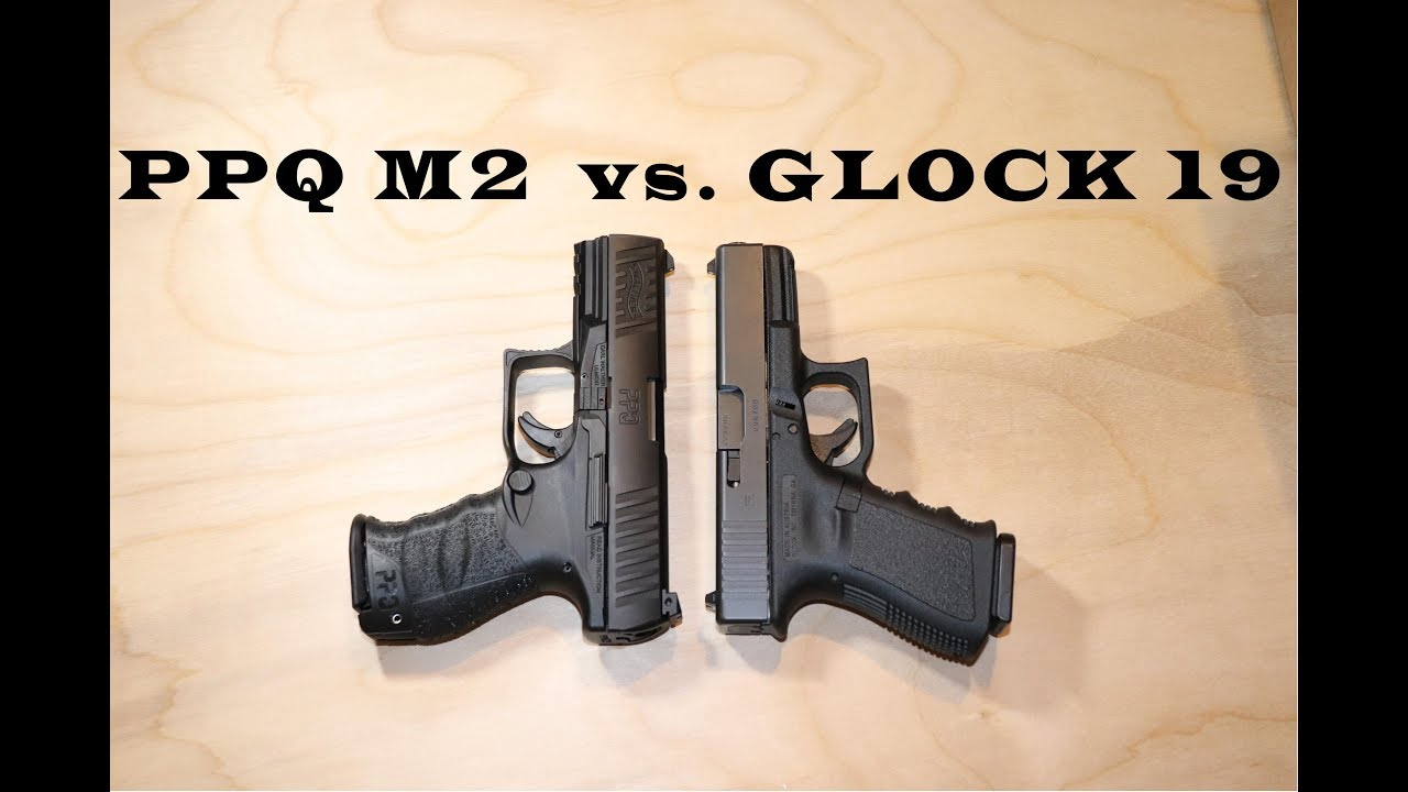 Walther PPQ M2 vs Glock G19
