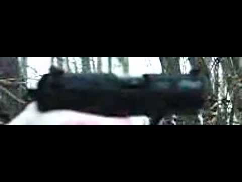 Walther P22 in slow motion (poor quality)