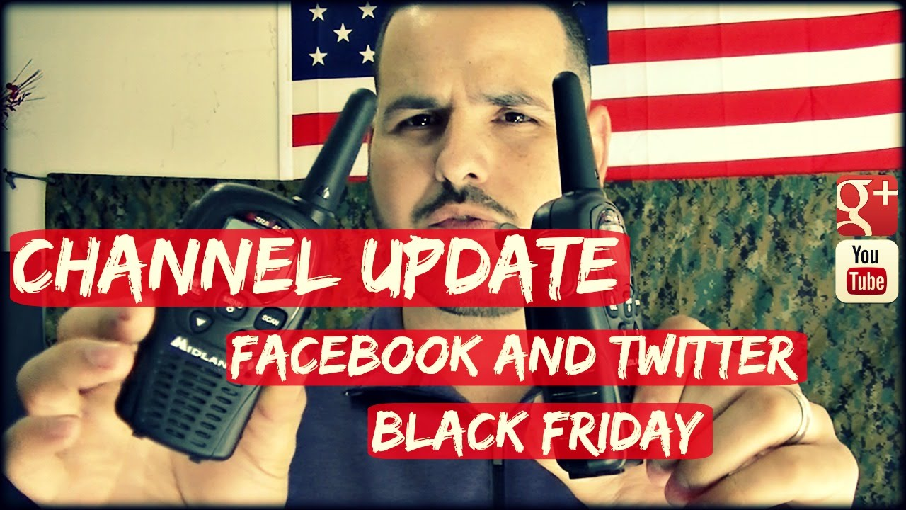 Channel Update: Facebook, Twitter and Black Friday!