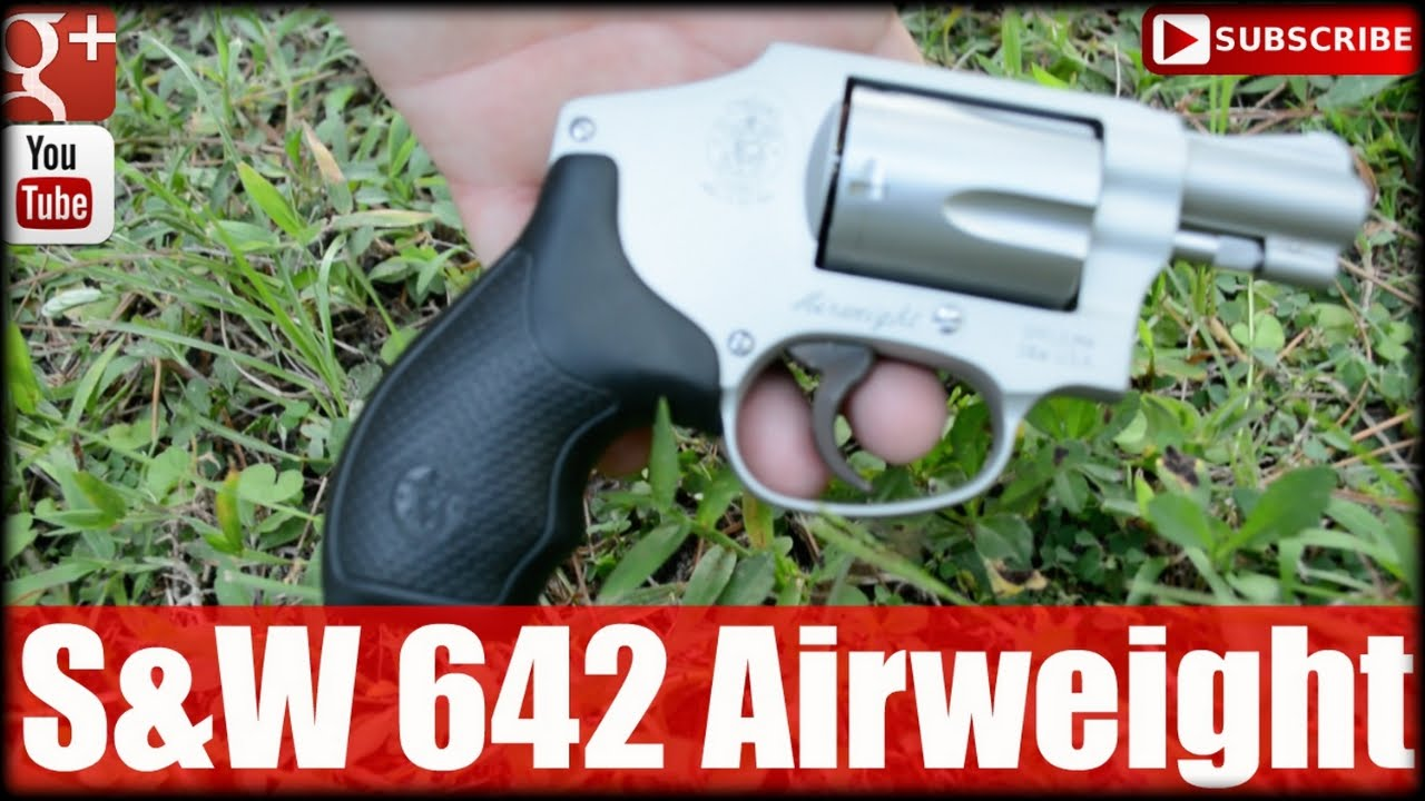 S&W 642 Airweight Revolver for Concealed Carry