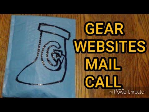 Gear Websites Mail Call