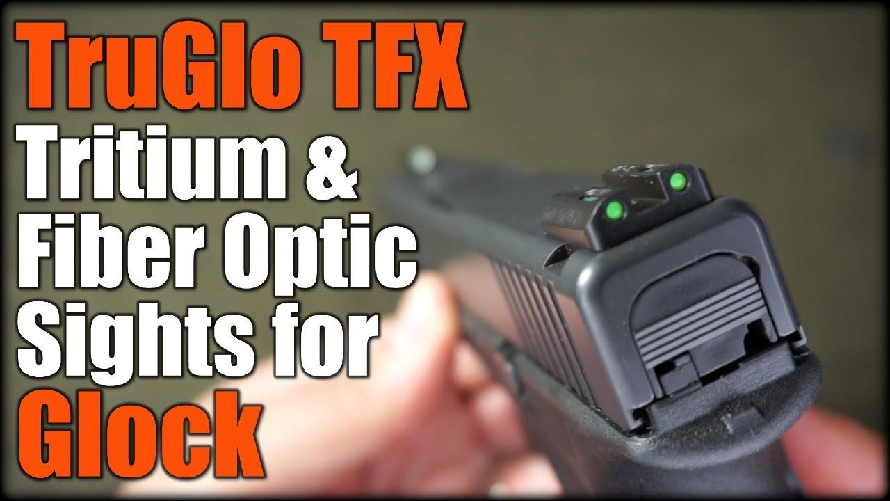 TruGlo TFX Tritium & Fiber Optic Sights for Glock