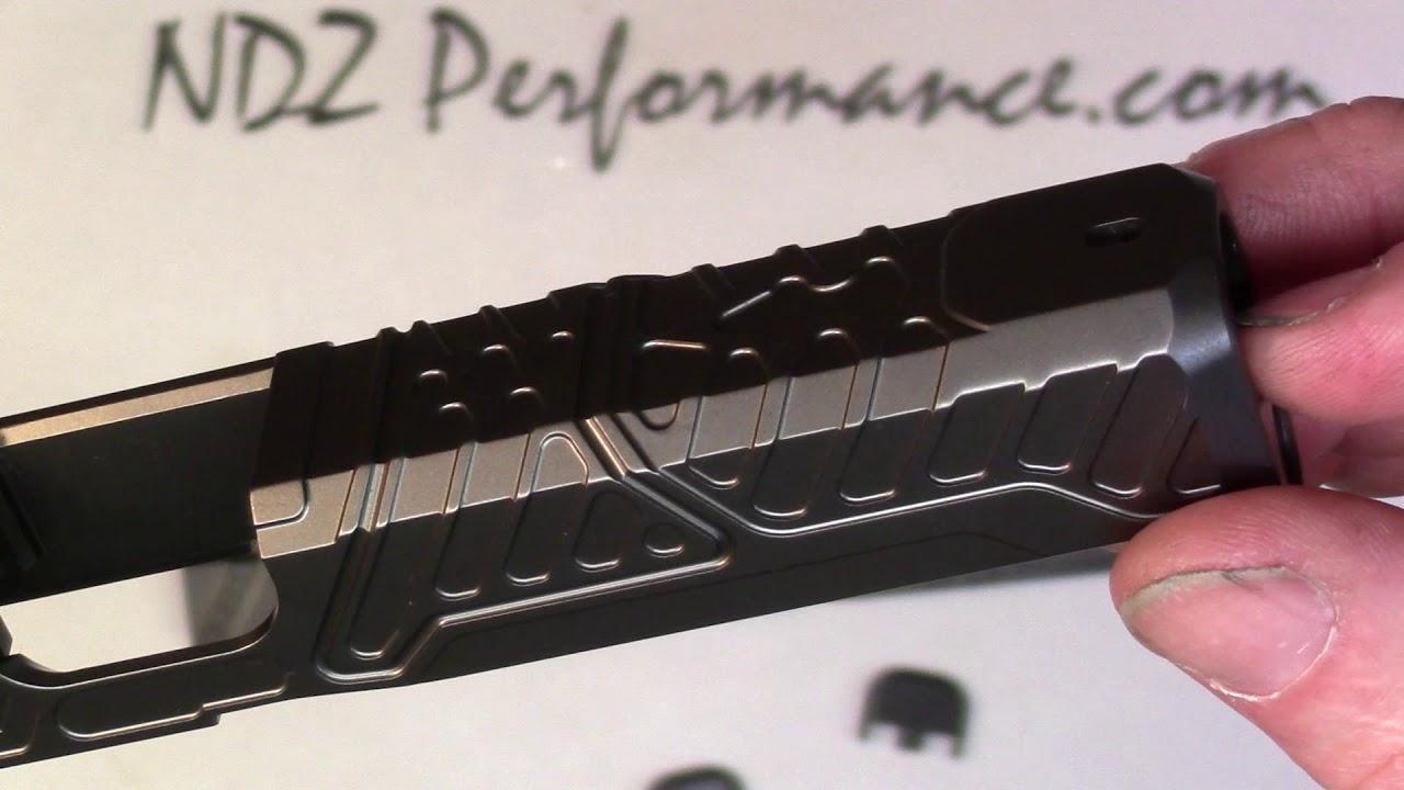 ZEV Tech Glock Gen 5 Orion and Omen Slides with RMR plate & NDZ Rear Plate