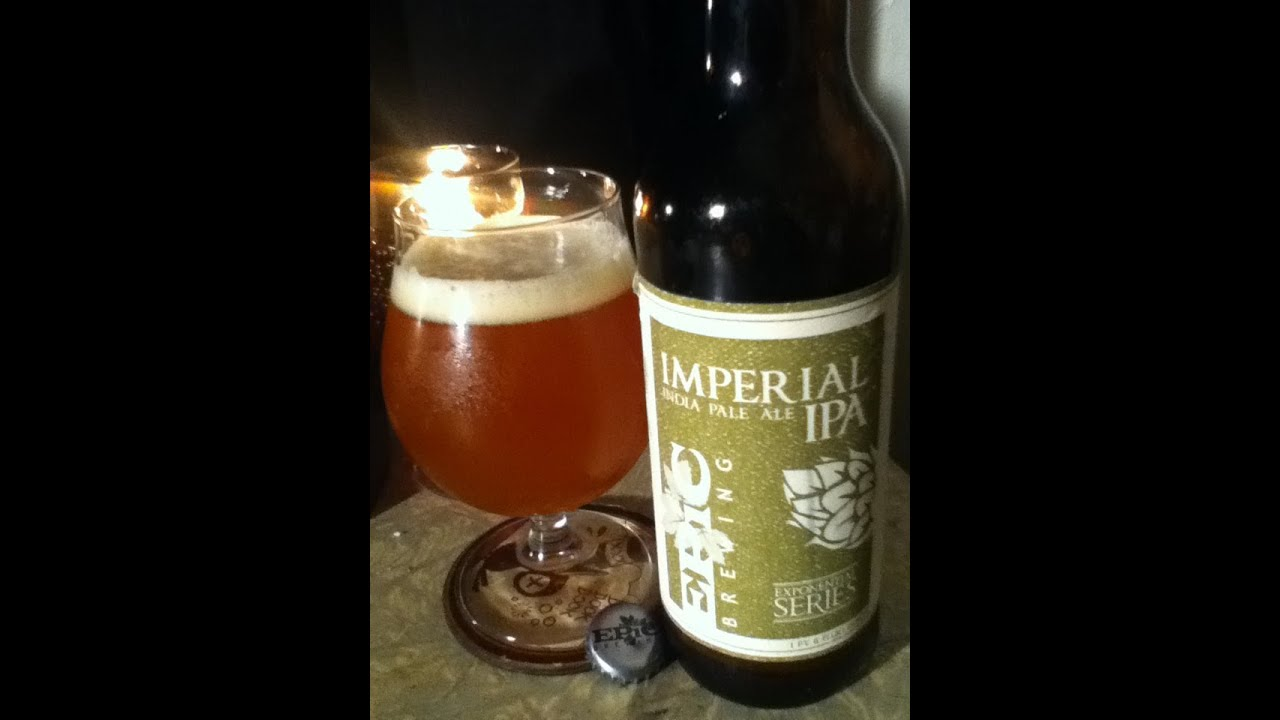 Imperial IPA from Epic Brewing