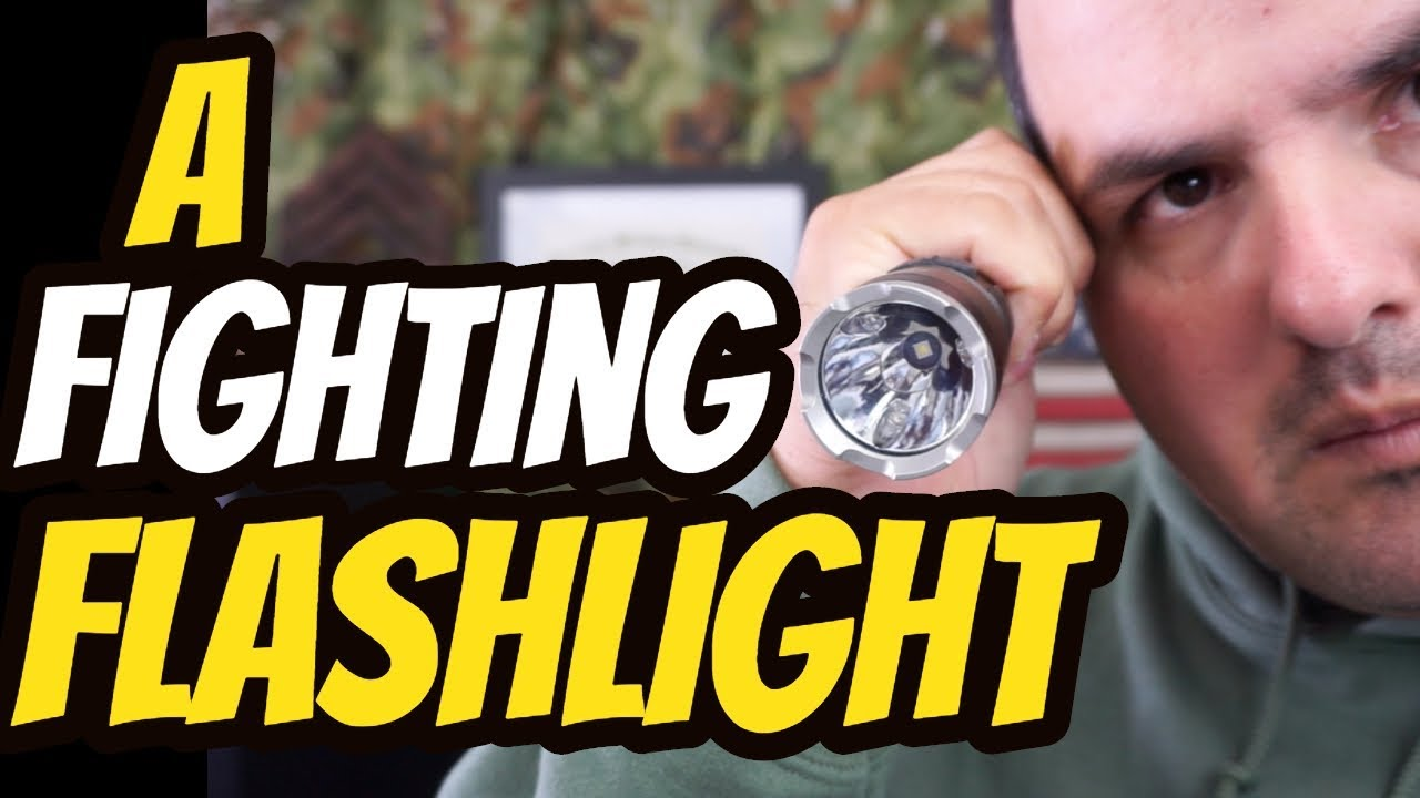 A Fighting Flashlight| Nitecore MH27