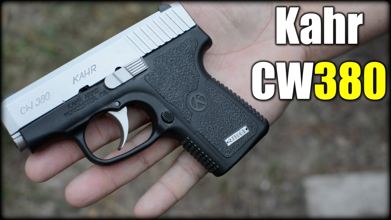 Kahr CW380| Deep Concealment Pistol
