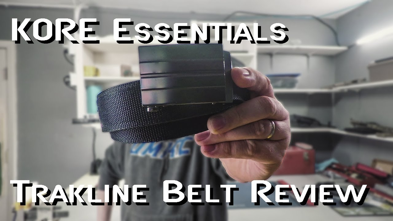 KORE Essentials Trakline [Black Tactical web belt]