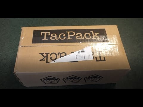 TacPack December 2018 Unboxing!!