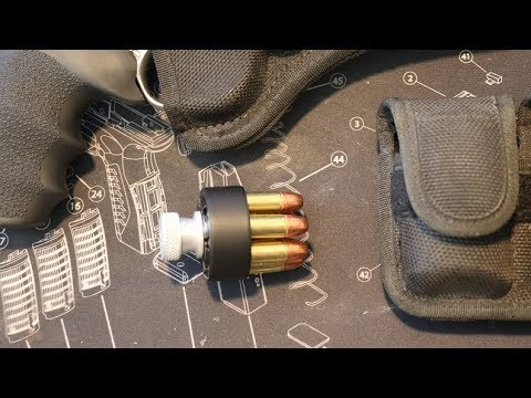 Using Speed Loaders on a Revolver
