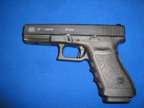 Taking in a used Glock G21 / Polishing the Trigger Control Group