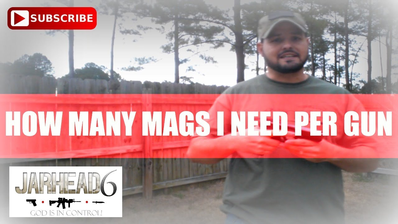 How Many Mags Do I Need Per Gun? VR to The Yankee Marshal