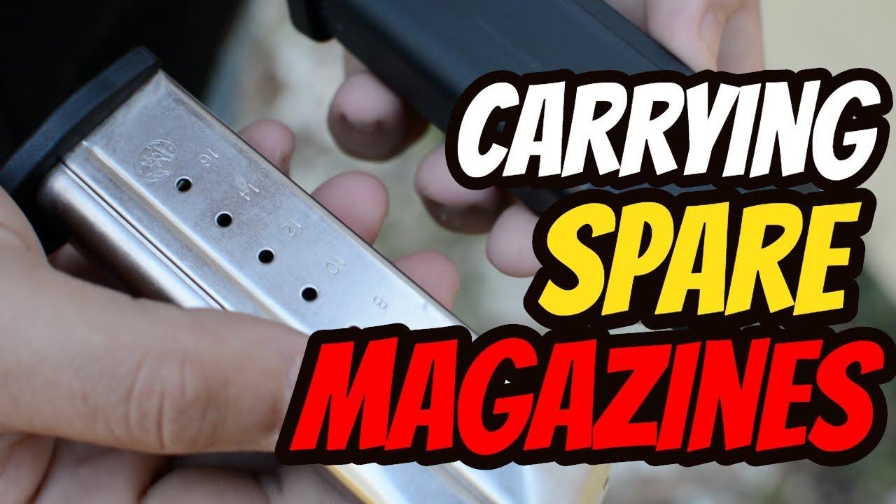 Why I Carry a Spare Magazine