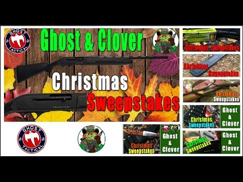 Ghost & Clover Christmas Shotgun Sweepstakes:  Check out What You Can Win!