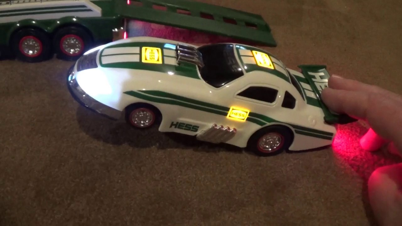 2016 Hess Truck and Dragster Unboxing and Demo | Great Chirstmas gift