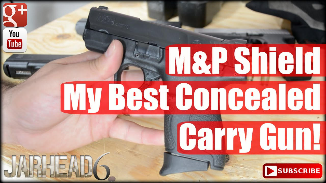 M&P Shield: My Best Concealed Carry Gun!
