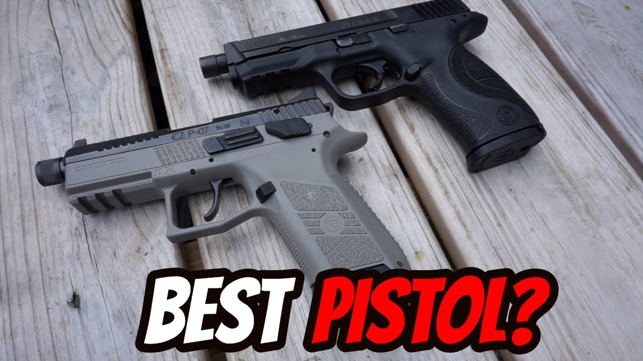 Best Suppressor Ready Pistol?