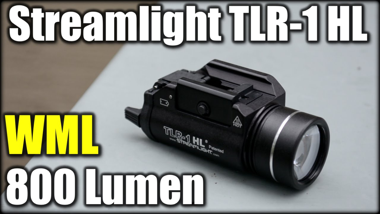 New Streamlight TLR-1 HL 800 Lumens