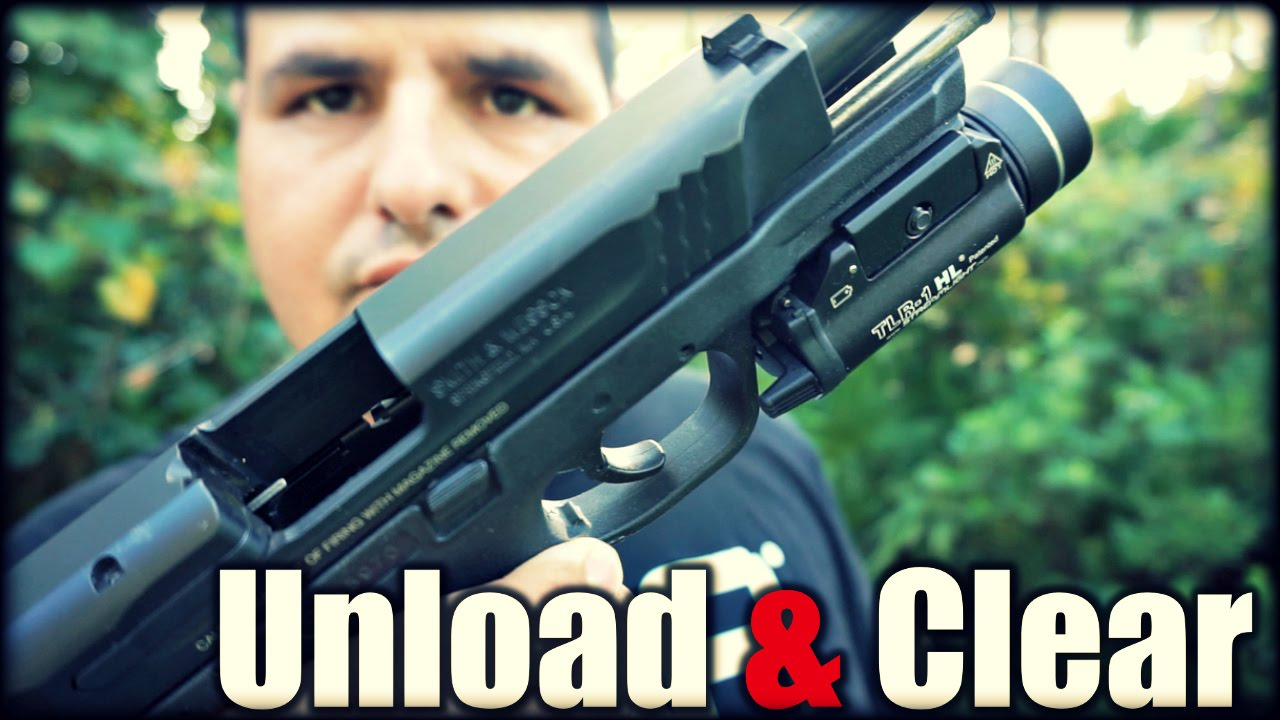 How to Unload & Clear a Firearm| New Shooter Series