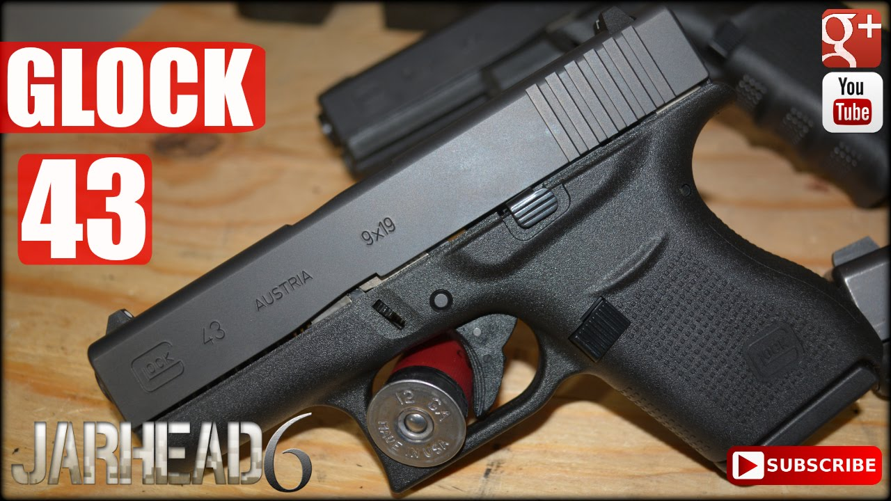 Glock 43: First Single Stack 9mm