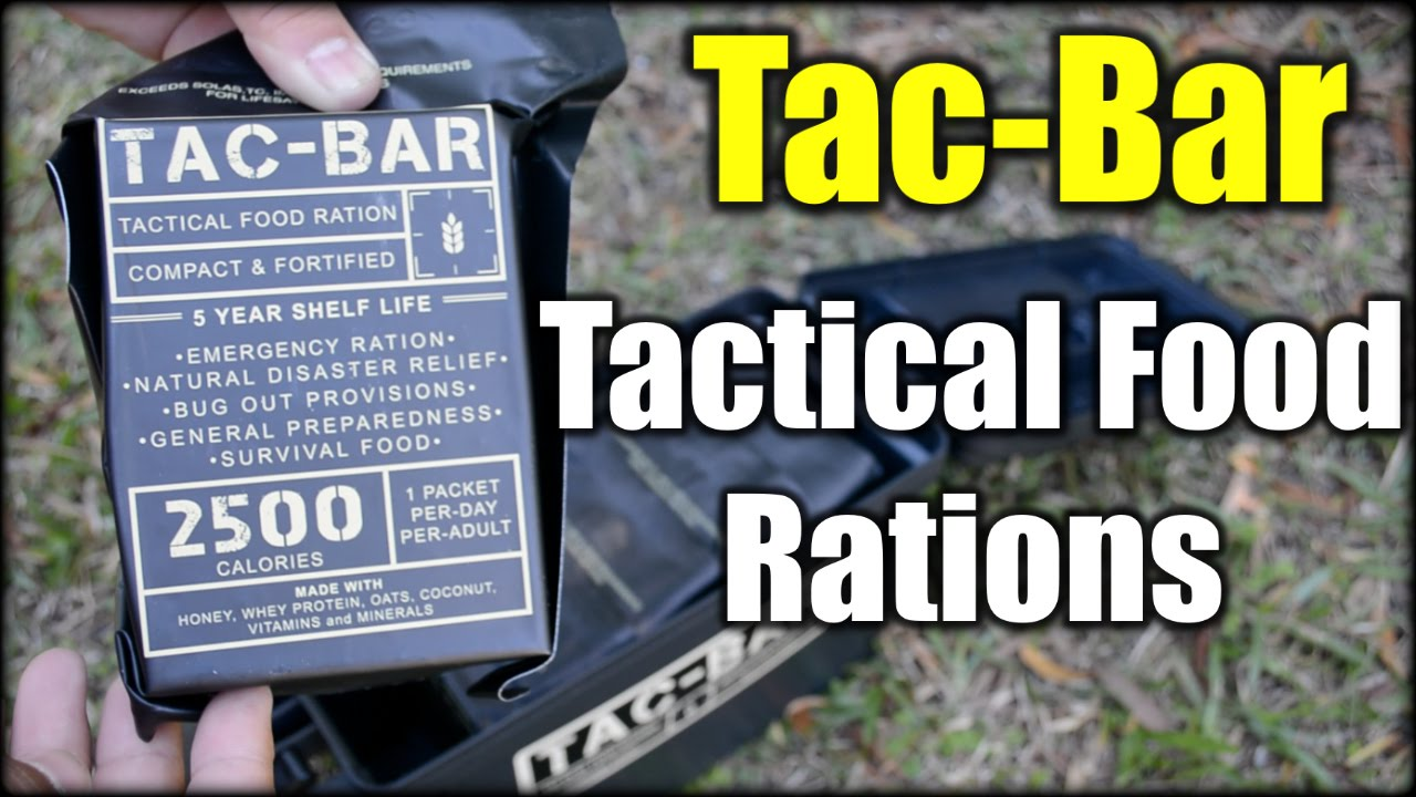 Tac-Bar: Tactical Food Rations