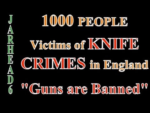 1000 People are Victims of Knife Crimes in England