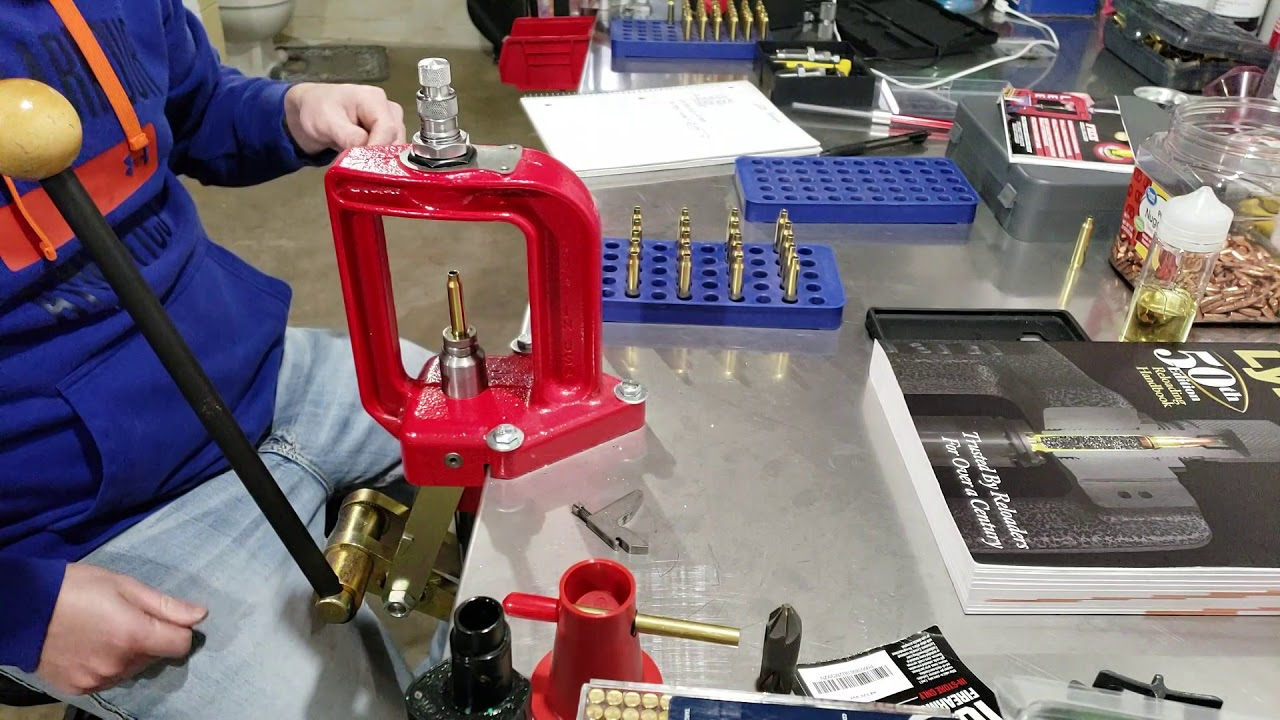 Reloading 223 by a Beginner Part Three: Seating and Crimping