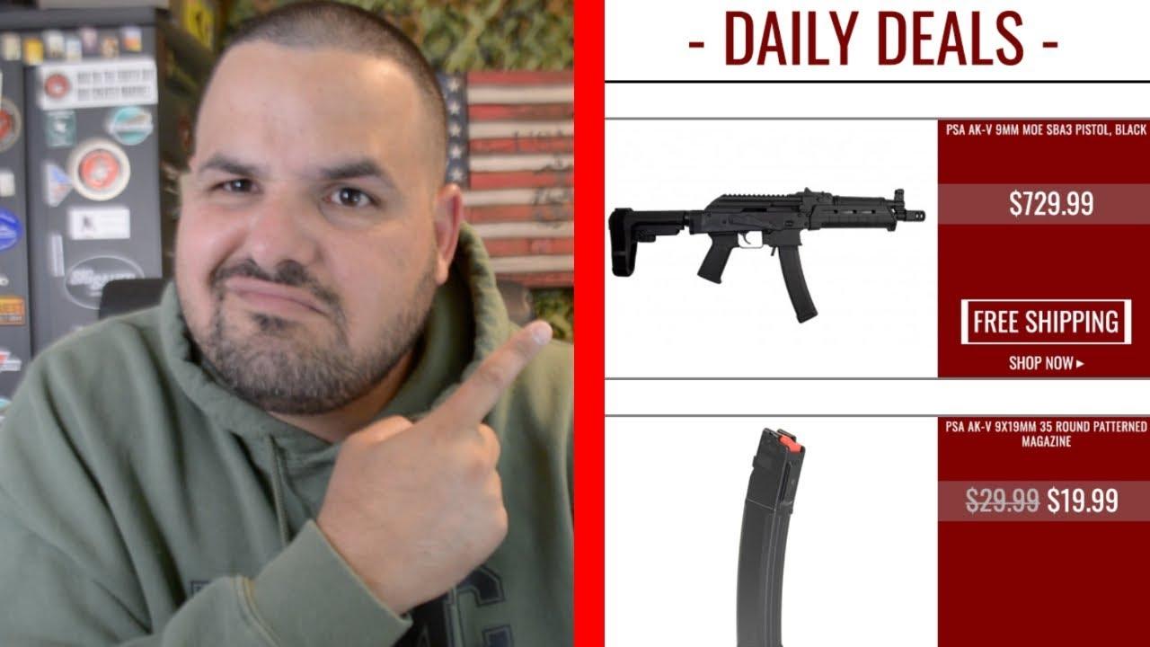 I am NOT Sure Abut this Gun| PSA AK-V 9MM