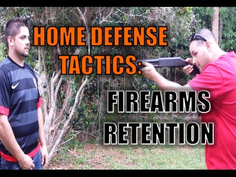 Home Defense Tactics: Firearms Retention