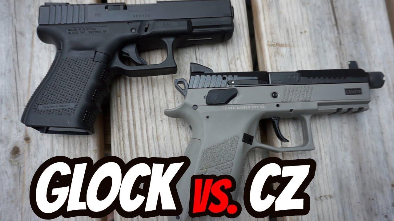 CZ PO7 Vs. Glock 19 Size Comparison