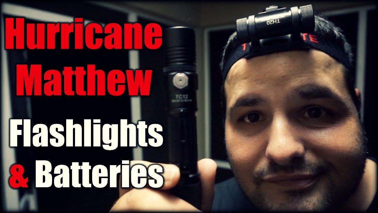 Flashlights & Batteries| Hurricane Matthew