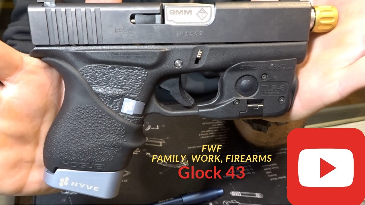 Review Of My EDC Glock 43! ATi Threaded Barrel & Hyve Products
