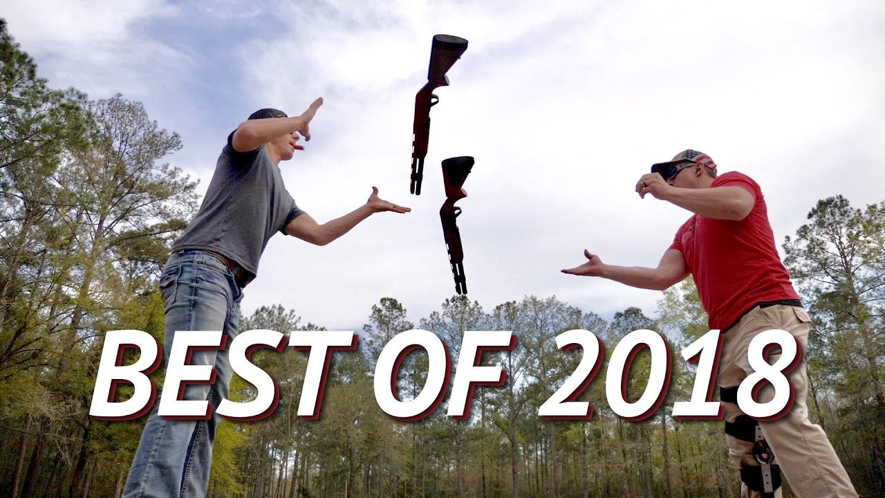 Best Trick Shots & Favorite Moments of 2018 | Gould Brothers