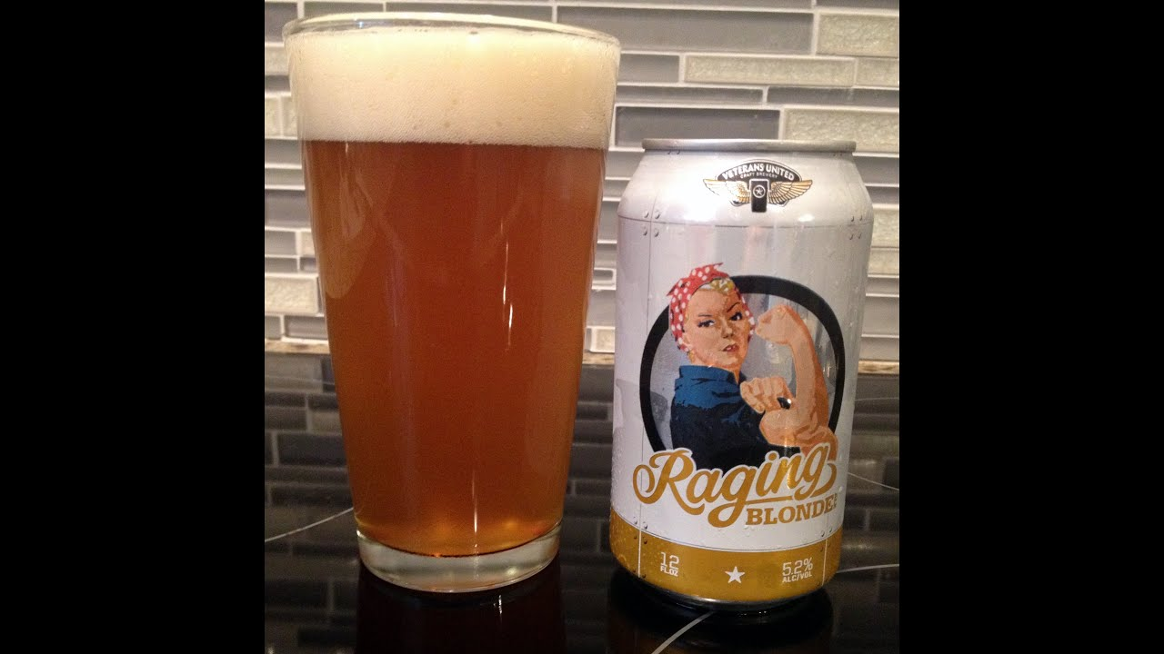 Raging Blonde Ale from Veterans United Craft Brewery