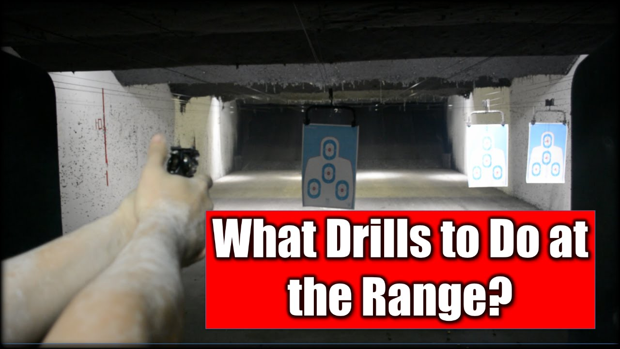 What Drills to Do at the Range?
