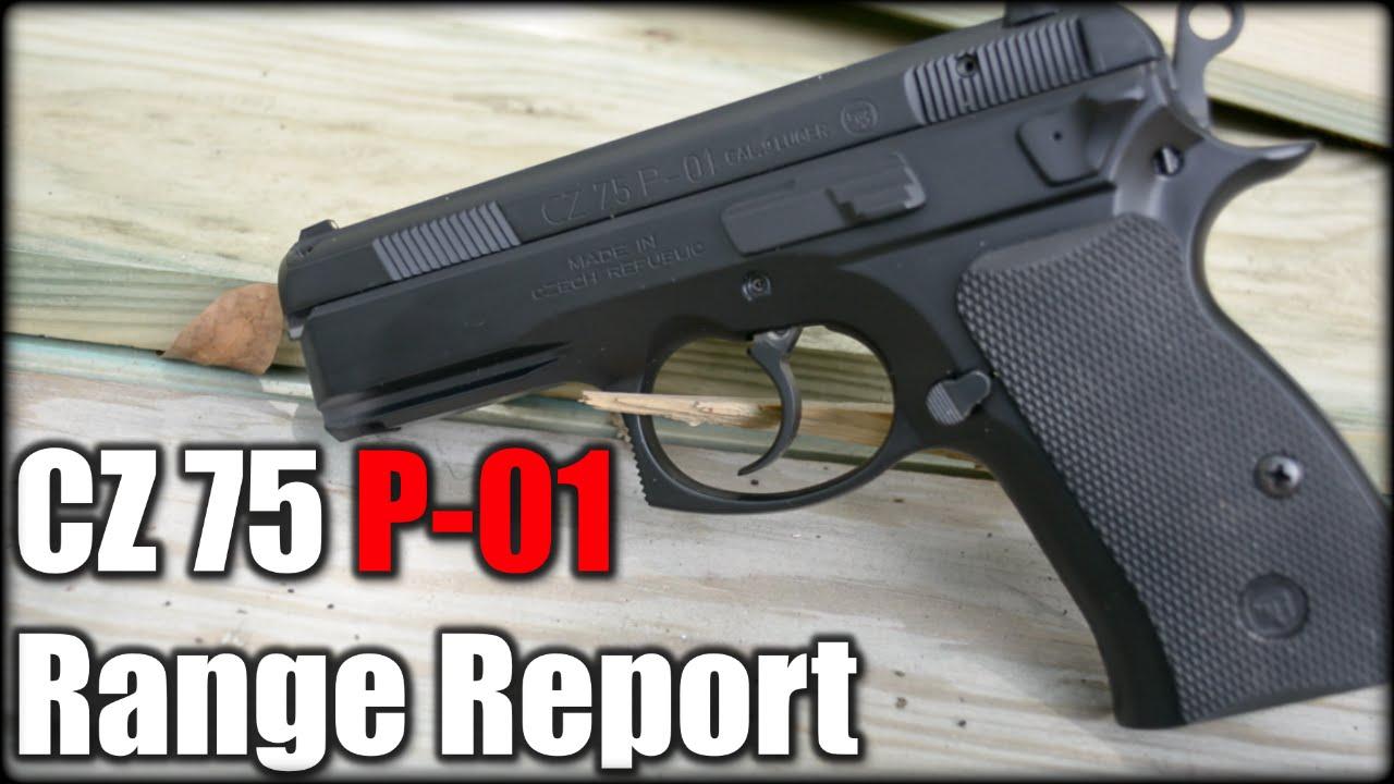 CZ 75 P-01 Compact| Range Report