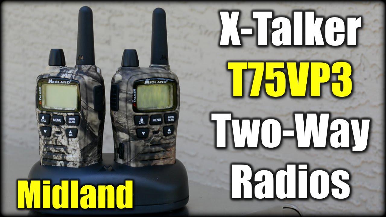 Midland X-Talker T75VP3 Two Way Radios
