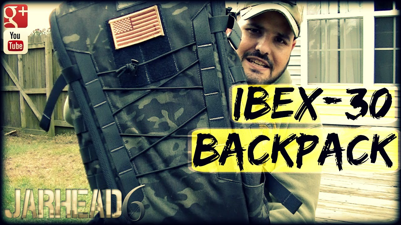 Vanquest IBEX-30 Pack: The PERFECT Customizable Backpack!
