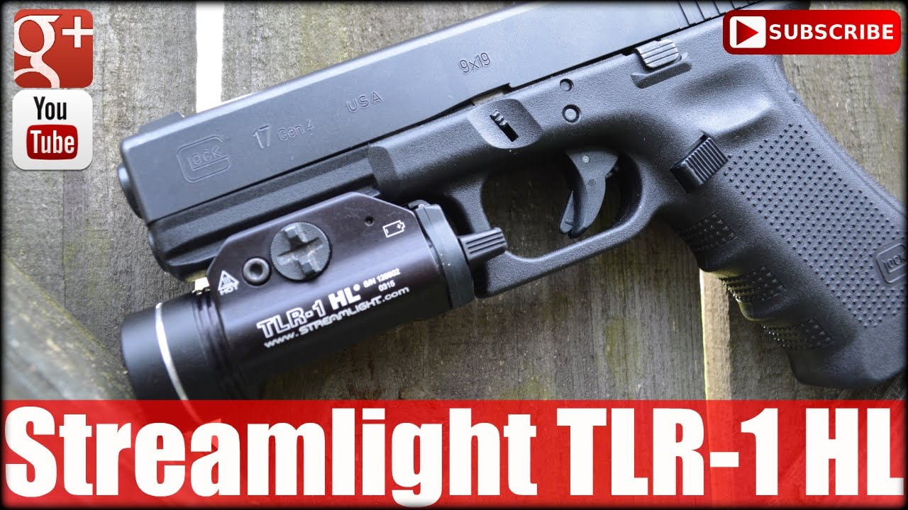 Streamlight TLR-1 HL 630 Lumen Weapon Light