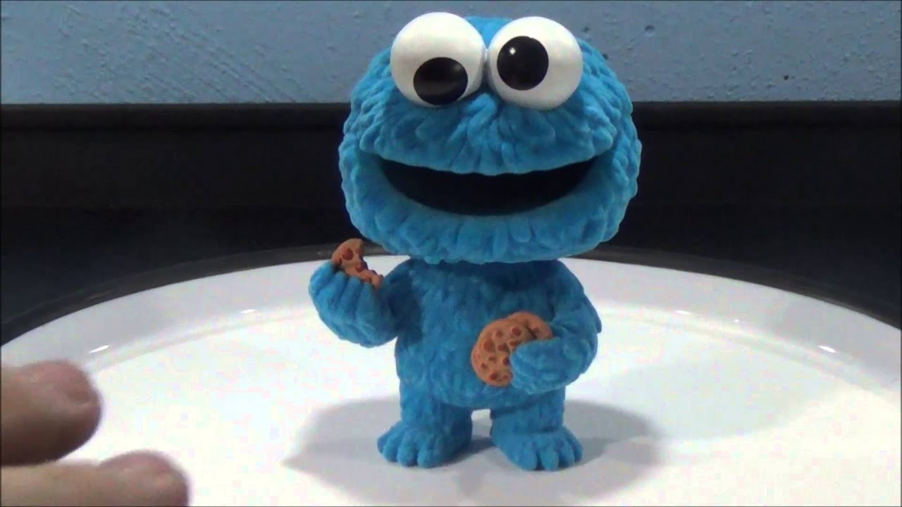 Flocked Cookie Monster NY Comic Con limited Edition Pop Sesame Street # 2
