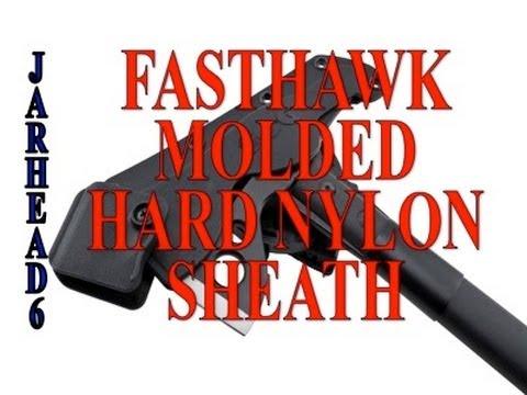 FastHawk Molded Hard Nylon Sheath