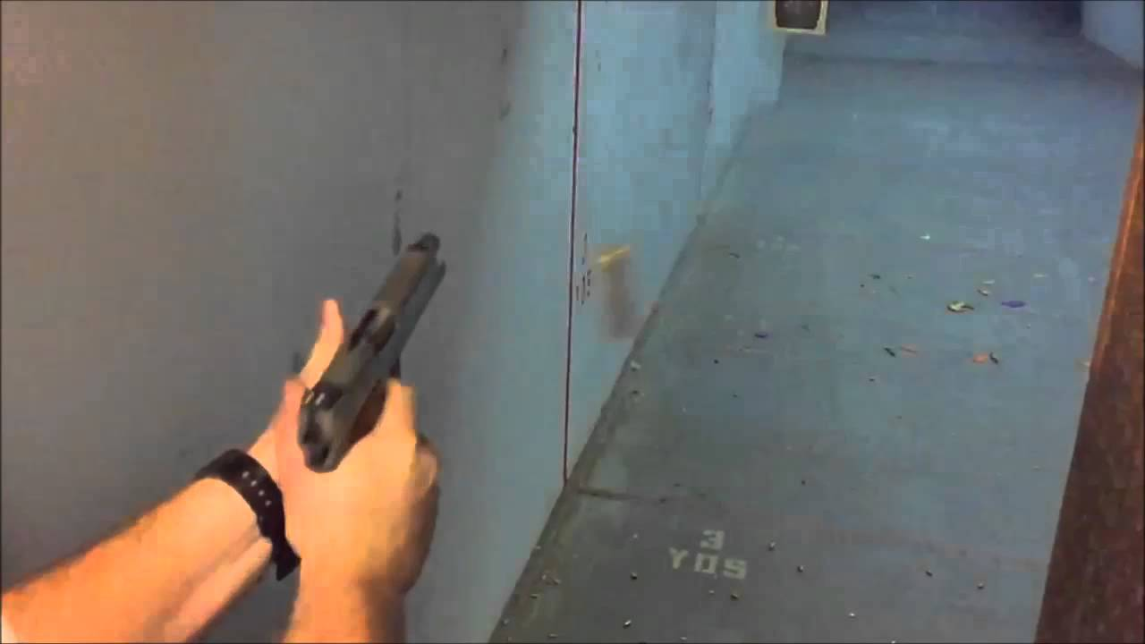 Coonan Classic .357 in Slow Motion