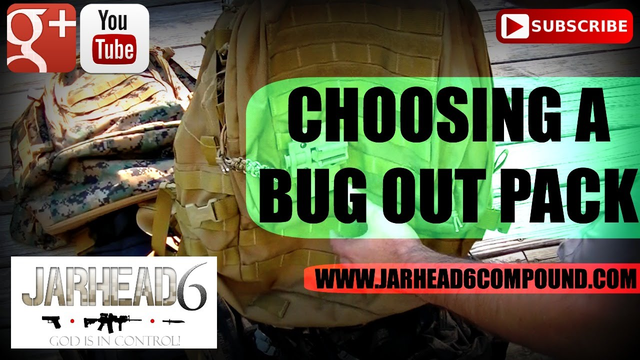 Choosing a Bug Out Pack