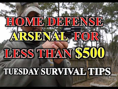Home Defense Arsenal for Less than $500