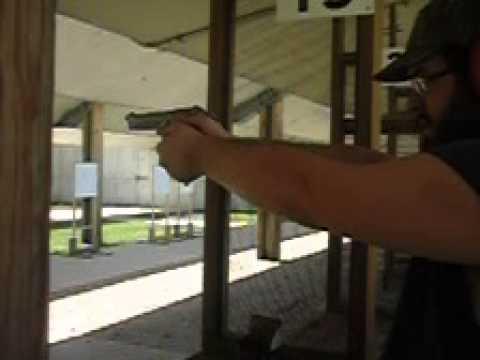Me Shooting a Beretta 92FS Inox in Slow Motion