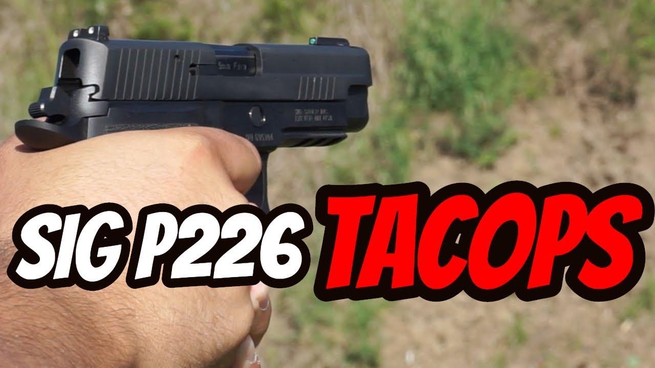 Sig Sauer P226 TACOPS| Range Time!