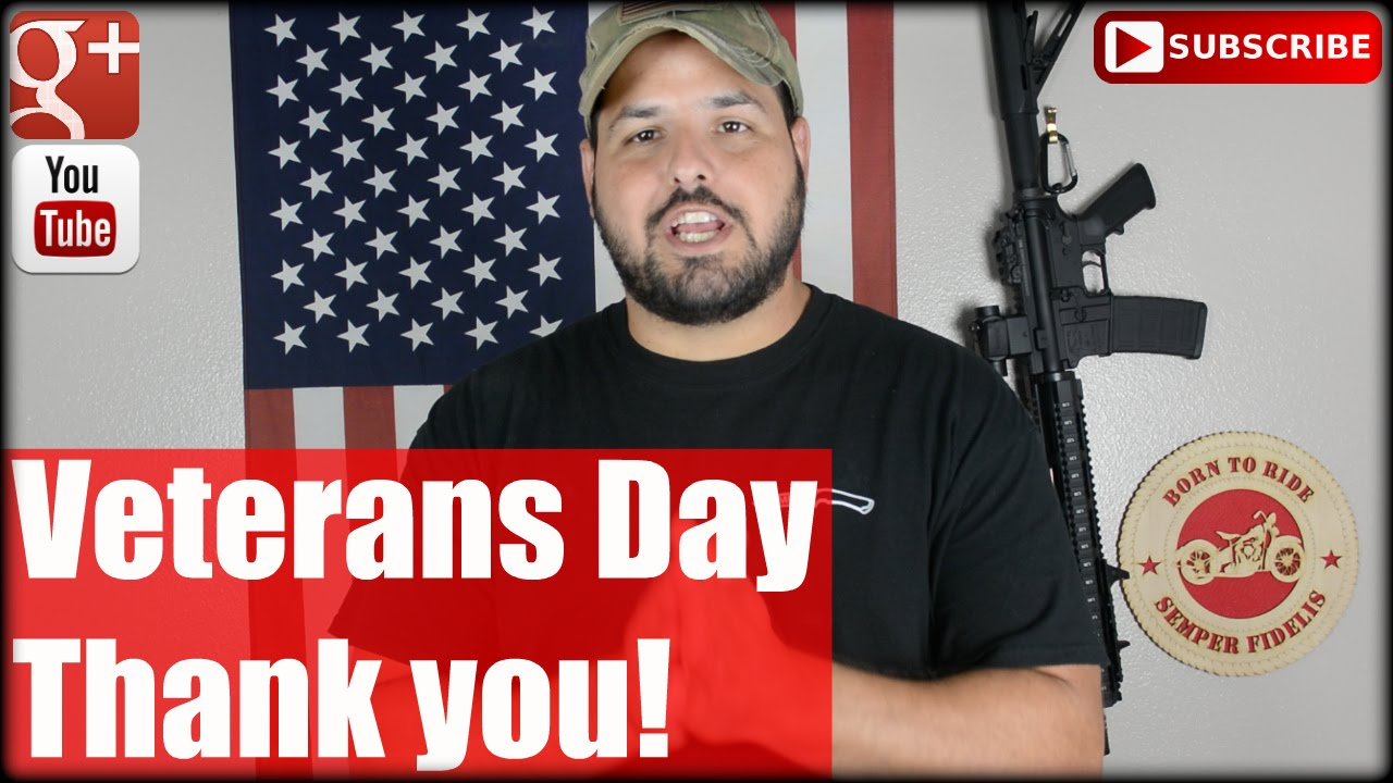 Veterans Day: Thank you!