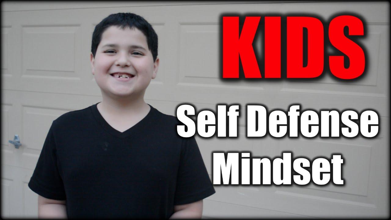 Train Kids to Have a Self Defense Mindset